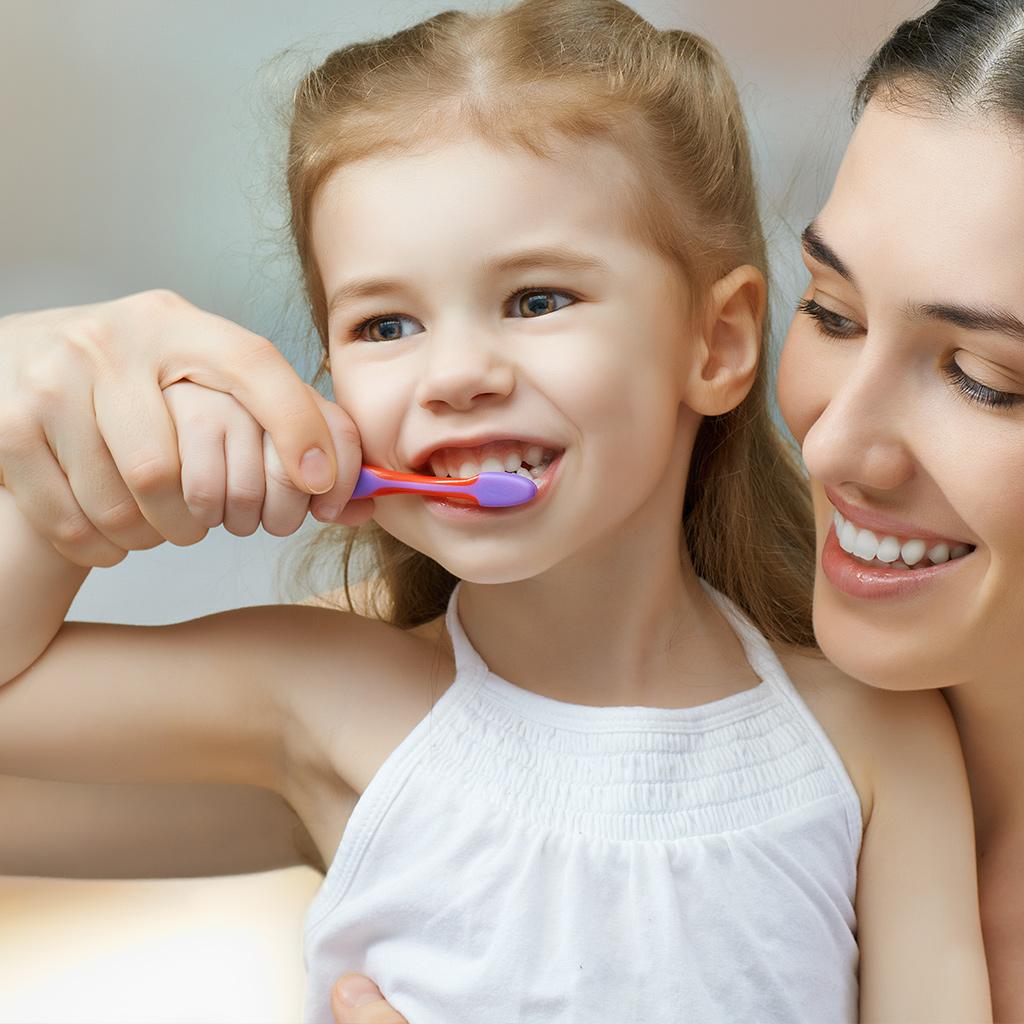 teeth cleaning way